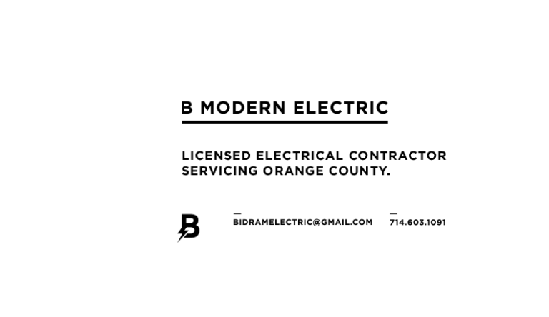 B Modern Electric Home